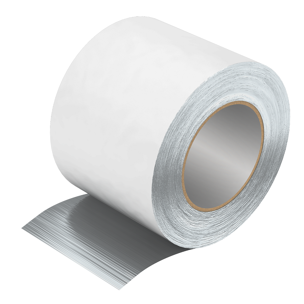 Adhesive aluminium tape for section insulation